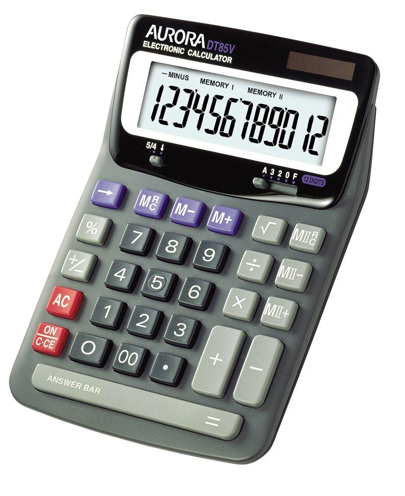 Amazon.com : DT85V Compact Desktop Calculator, 12-Digit LCD : Electronics
