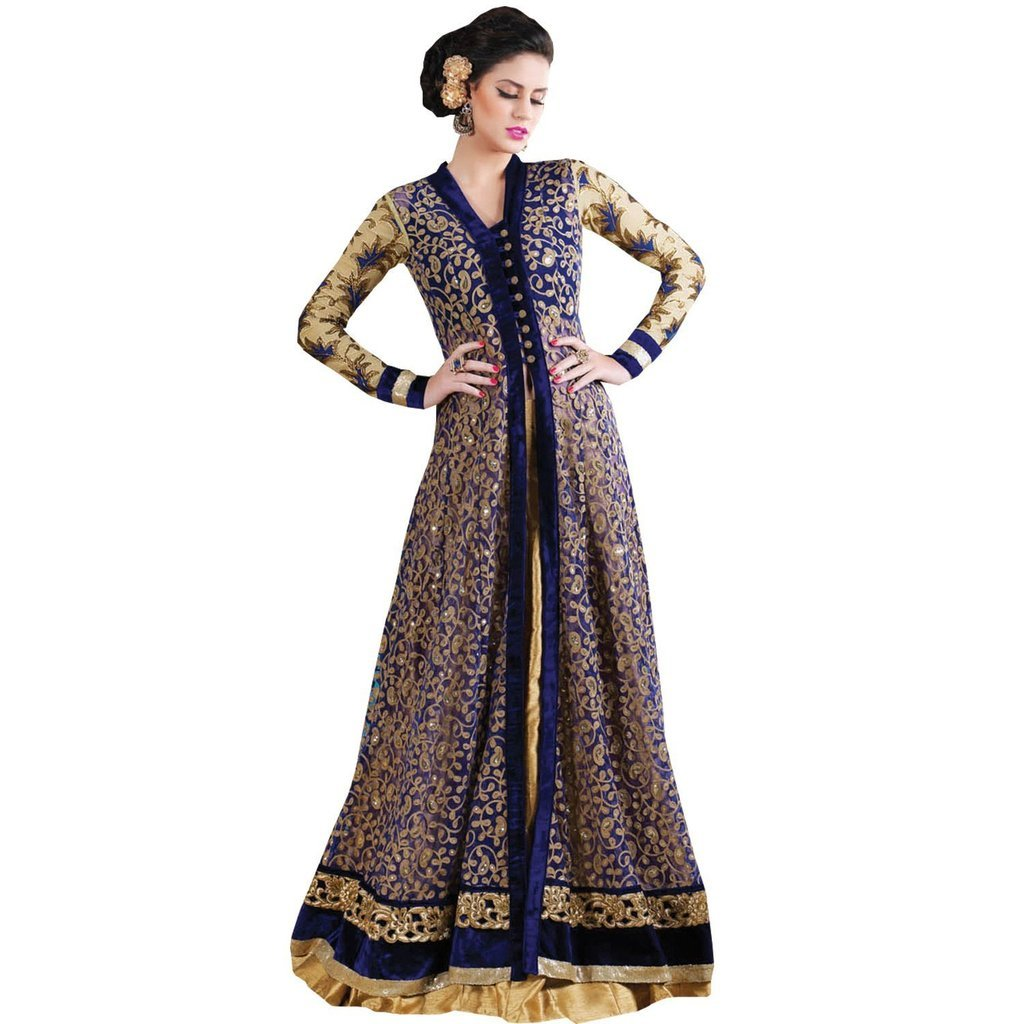 Jay Sarees Designer Salwar Suit Kameez Anarkali Unstitched JCCAT3023-4605