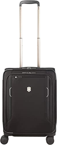 Victorinox WT 6.0 Softside Spinner Luggage, Black, Carry-On-Global 22