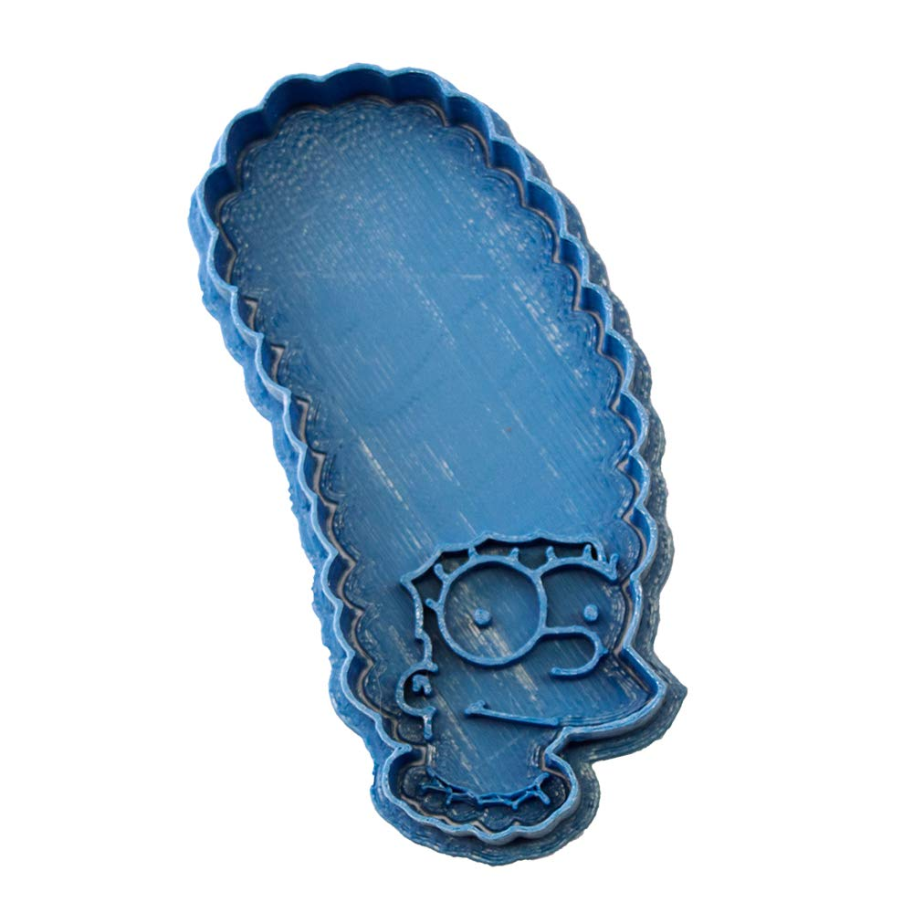 Cuticuter los Simpsons Marge Cortador de Galletas, Azul, 8x7x1.5 cmhttps://amzn.to/2TSgtqT