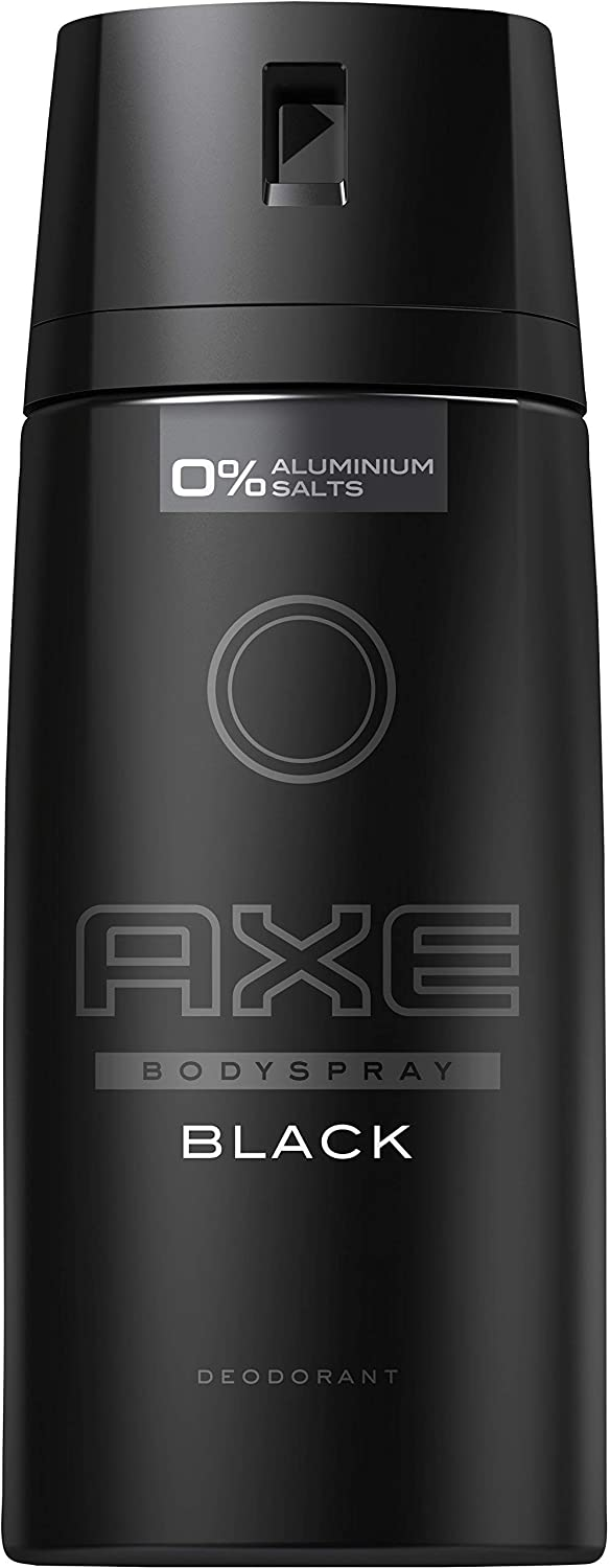 AXE Deodorant Body Spray Black New Edition 150 ML - Pack of 6