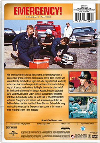 Buy emergency dvds tv show