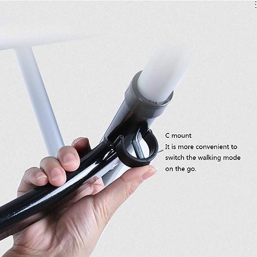 Andador Marco para Caminar Plegable Ligero Roller de Aluminio ...