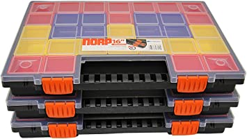 Juego de 2 a 6 cajas organizadoras, organizador NORP16, para ...