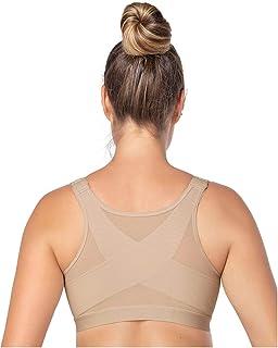 5d1ebaadc6dc8 Amazon.com  IntelliSkin Women s Empower Posturecue Sports Bra M ...