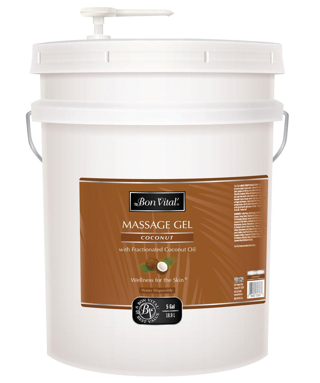 Bon Vital BVCOG5G Coconut Gel, 5 Gallon
