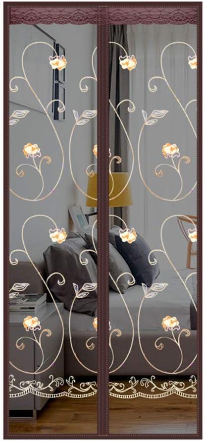 120 /× 220 cm Moskitonetz Vorhang Magnete T/ürgitter Insekten Sandfly Netz mit Magneten auf dem T/ürgitter Bildschirm Magnete