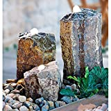 Heissner 016808-00 Basalt Water Feature - Stone Grey