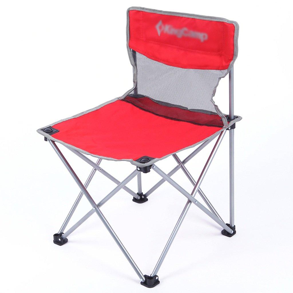 Y HWZDY Camping klappstuhl Camping Stuhl Outdoor Klappstuhl, Angeln Angeln Klappstuhl, Freizeit Stuhl, Atmungsaktive Feste Portable Beach Chair, (Farbe   4) bb3c4d