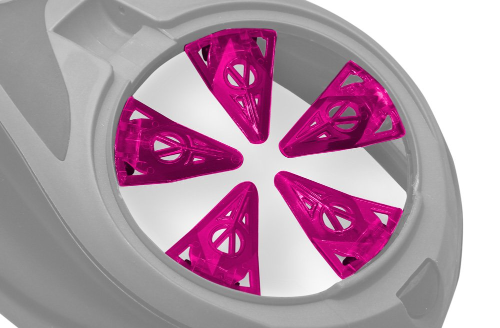Virtue Paintball Crown SF Loader/Hopper Speed Feed - Dye Rotor/LT-R - Pink by Virtue Paintball