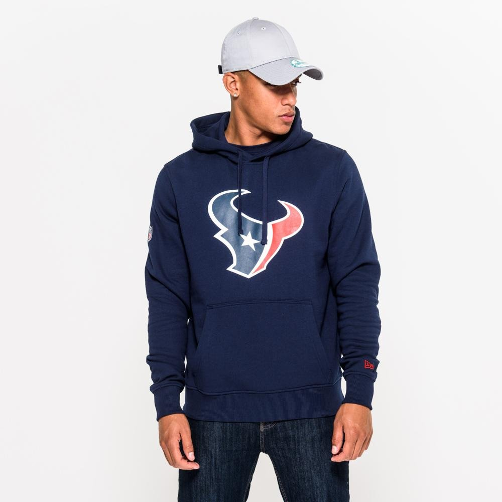 New Era Houston Texans NFL On Field Hoody Sweater Hoodie Herren Mens M L XL