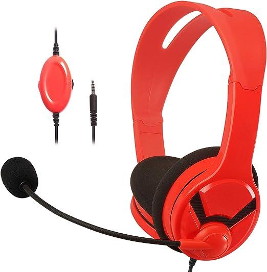 AmazonBasics – Auriculares de gaming, compatibles con Nintendo ...