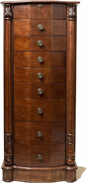 The Best Home Depot Cherry Blossom Cream Jewelry Armoire