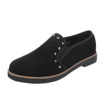 Cingant Woman Damen Stiefelette/Profilsohle/Hoher Blockabsatz/Halbhohe Stiefel/Damenschuhe/Boots/Schwarz, EU 41