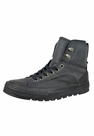 Converse Chuck Taylor All Star Tekoa Hi Top Black Black White Mens 4   625a2a628682