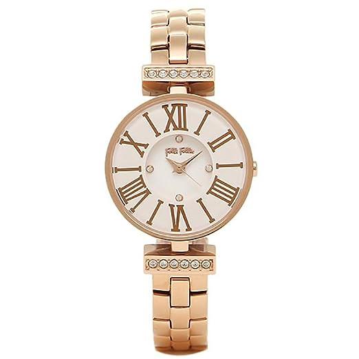 Folli Follie Folli Follie Reloj Brazalete Folli Follie wf15b028bsw XX Mini Dynasty invierno sueño reloj de pulsera para mujer reloj blanco/oro rosa: ...