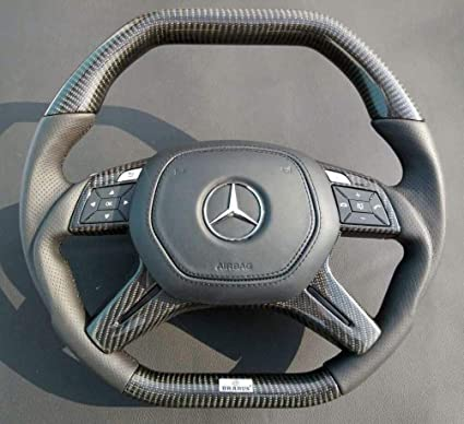 Amazon Com Mercedes Benz Carbon Steering Wheel Ml Gl G W166 X166