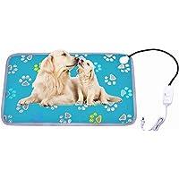Almohadilla de calefacción para perro grande XXL para cama de perro, mascota, gato, almohadilla de calefacción eléctrica…