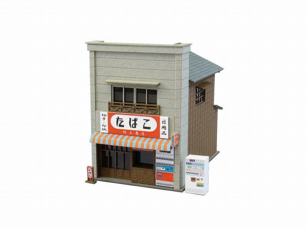 1/150 [Miniatuart] Good Old Diorama Series : Tobacconist (Unassembled Kit) (japan import) Sankei MP03-39