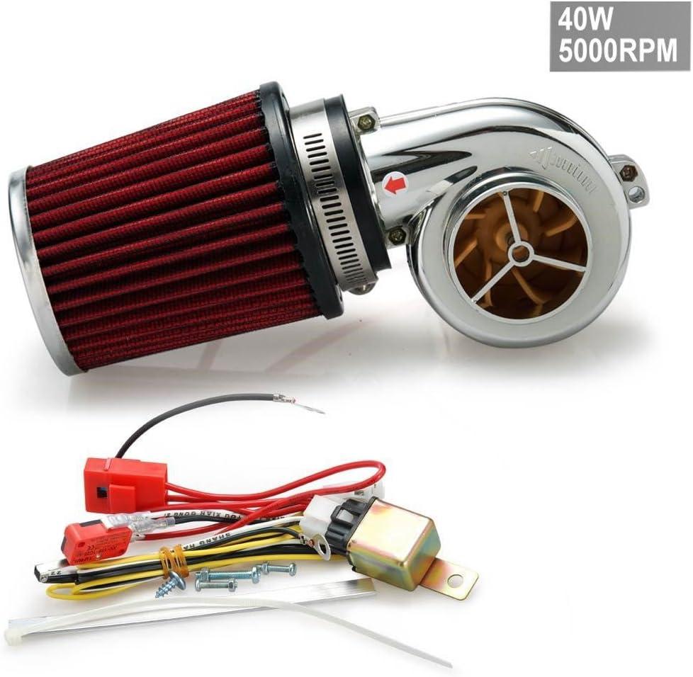 Motor Elektrische Turbocharge 40 W 5000rpm Kit Universal Fit Ride On Rasenmäher Auto
