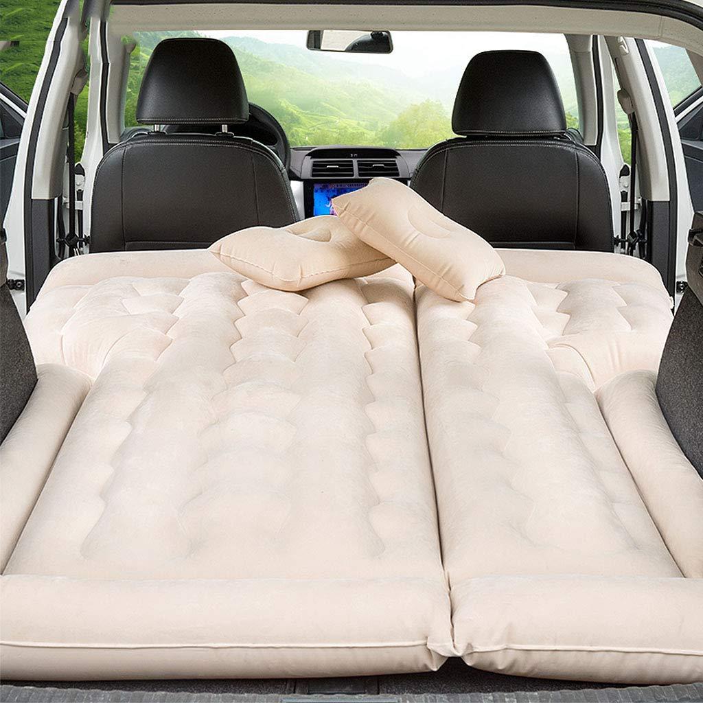 Aufblasbare Schlafmatte Reise-aufblasbares Bett für Auto, SUV-Auto-hintere Sitz-Limousine-Erwachsene Schlafenauflage, zusammenklappbares Luft-Bett, umweltfreundlich und bequem