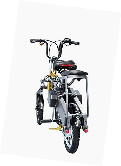 SMLRO JX003 Plegable un Segunda Triciclo Eléctrico Bicicleta Scooter 14 Pulgadas 250 W 36 V 10.4 Ah 3 Velocidad li-batterie Puissant Bicicleta Triciclo ...