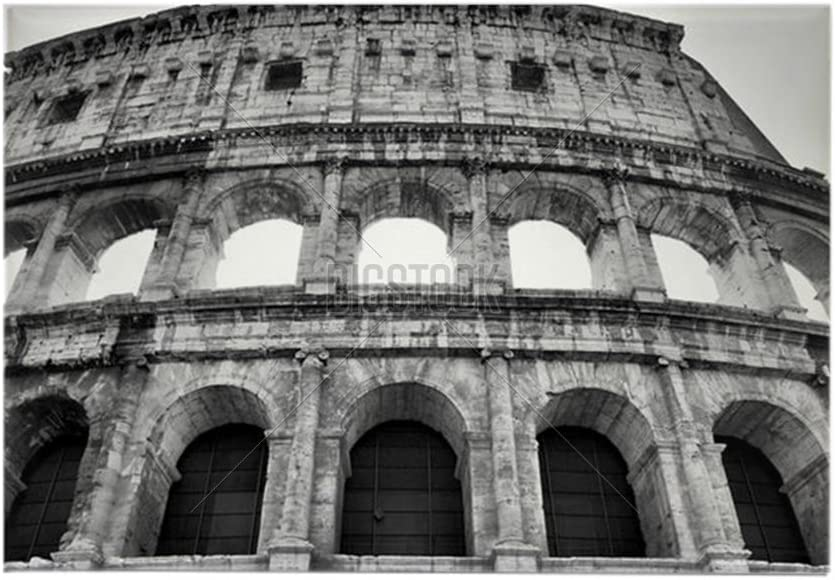 CafePress – Coliseo, Roma – rectangular imán, 2