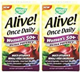 Nature's Way Alive Once Daily Women's 50+ 60 x 2 by Nature's Way