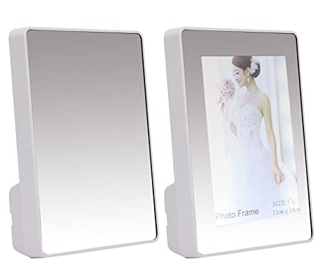 Buy Kurtzy 2 In 1 Mirror Come Photo Frame With Led Light For Art