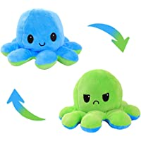 AioTio Double-sided Octopus Flip Plushie | Easy to show your mood to the parents/kids | As an interesting gift to kids…
