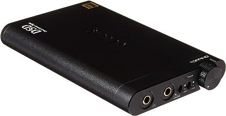 Topping NX5-B Hi-Fi Ultra Slim Portable Low Distortion Headphone Amplifier Black