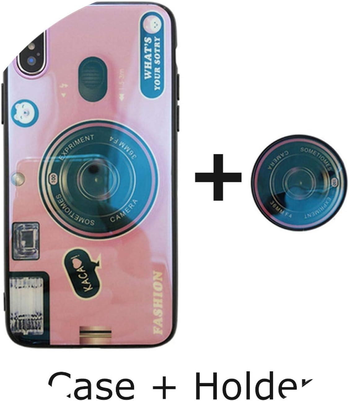 Custodia in silicone a forma di macchina fotografica per iPhone X ...
