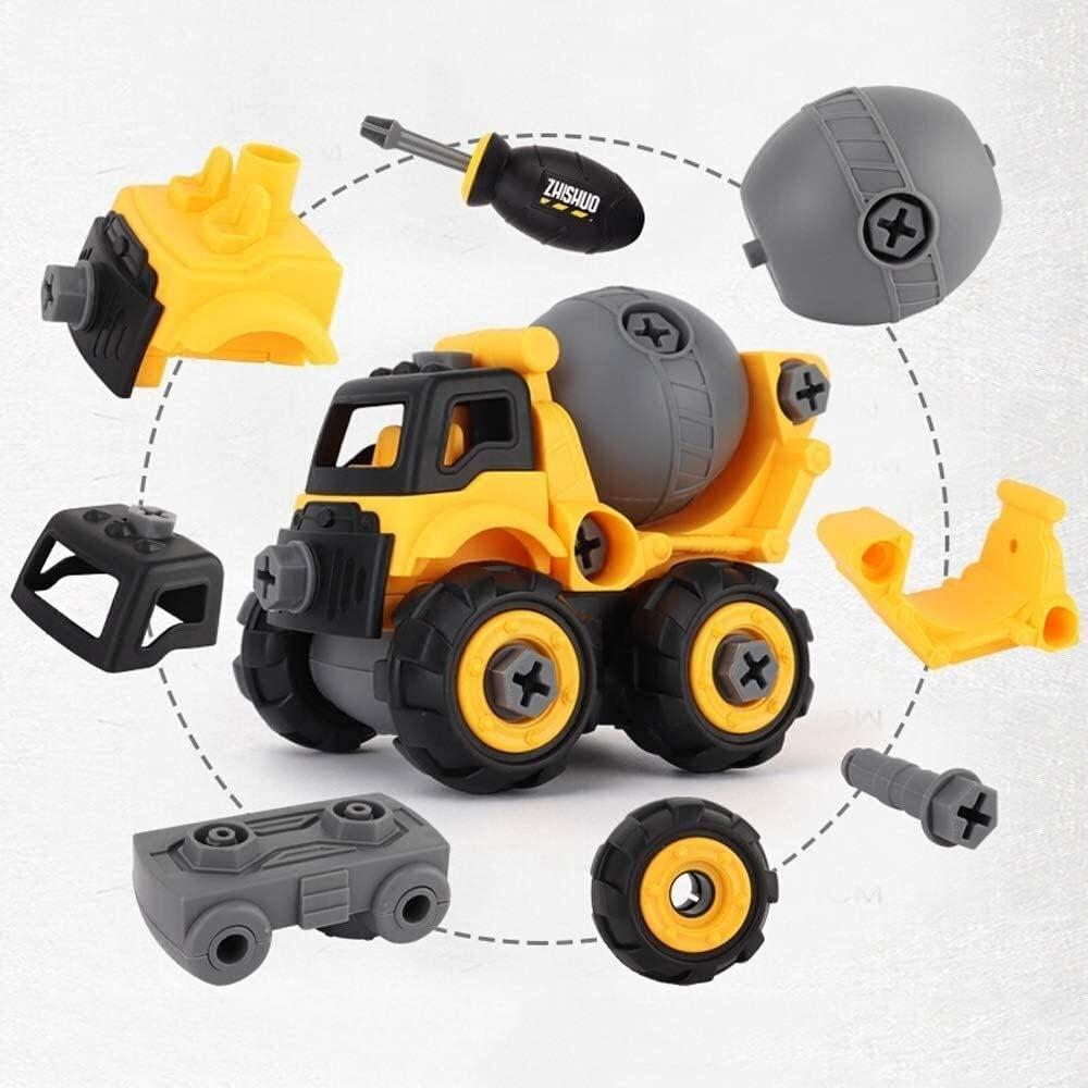 Qianqiusui Costruire Giocattoli Mini Pocket tute giocattoli di combinazione, i ragazzi e le ragazze 2-7 anni con un cacciavite a secco di apprendimento giocattoli, assemblando giocattoli, giocattoli i Crane
