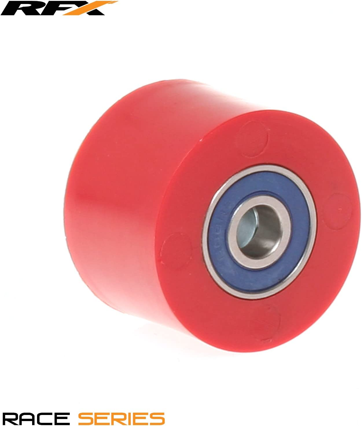 RFX FXCR 10038 55RD Chain Roller Universal Upper and Lower Red 38 mm