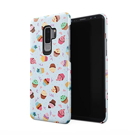 Amazon.com: Sweet Cupcakes Pattern Samsung Galaxy S9 Plus ...