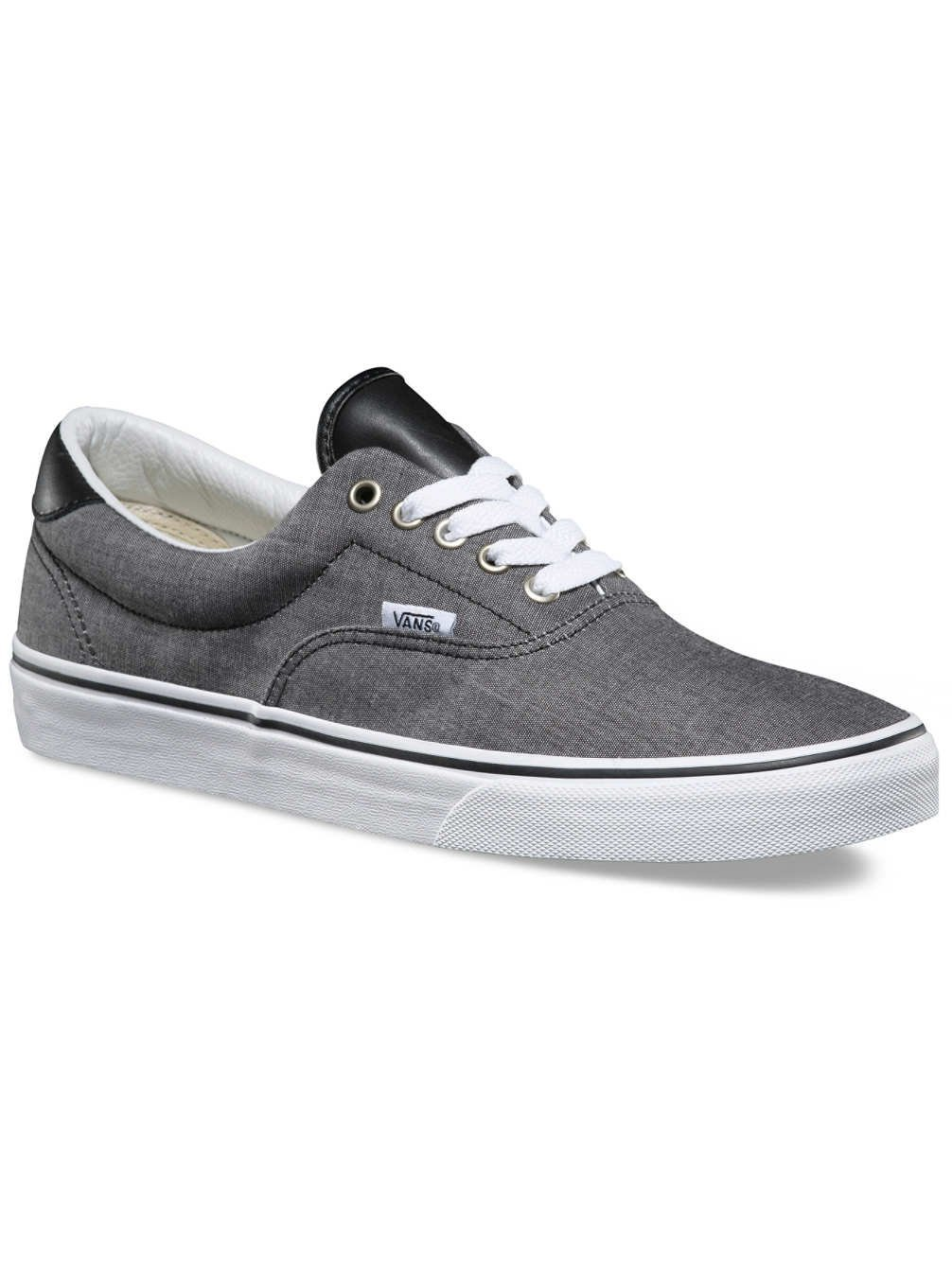 7db29debeb Galleon - Vans VN0A38FSMML Men UA ERA 59 (C L) Footwear Chambray Black