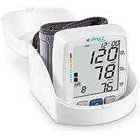 Blutdruckmessgerät Handgelenk APULZ Positionserkennung für genauere Messungen automatische Blutdruck- und Pulsmessung 240 Speichereinträge für 2 Benutzer inkl. Aufbewahrungsbox