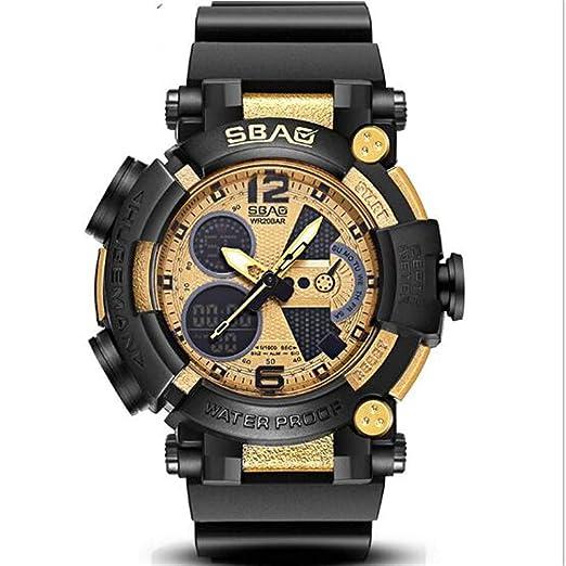 Reloj Relojes Impermeables para niños Relojes LED Reloj electrónico Reloj Deportivo Reloj de Moda, D: Amazon.es: Relojes