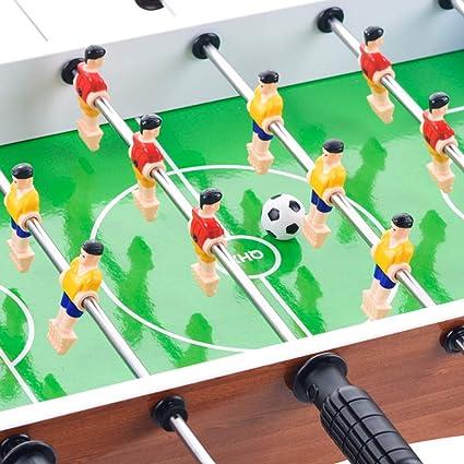 Toyvian Mesa de futbolín Mesa portátil Six Shots Juego de fútbol ...