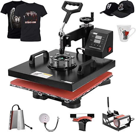15X15 Pro 15x 15 Heat Press Digital Transfer T-Shirt Press Sublimation Transfer Machine Heat Press Machine for T Shirt//Plate