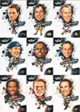 Score Football 2010 NFL Players Complete Mint 19 Card Set with Brett Favre, Tom Brady, Peyton Manning and Many Others