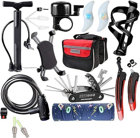 XJLLOVE Cycling Equipment Accesorios para Bicicleta de montaña Set ...
