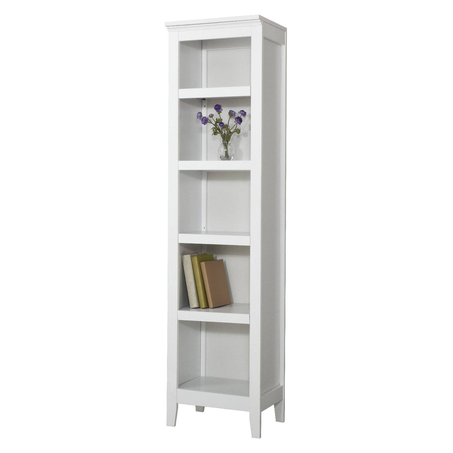 Threshold Carson Narrow Bookcase White