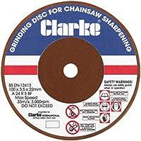 Clarke ECSS2 - Disco esmerilado para afilar motosierras
