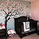 Cherry Blossom Tree - Elegant Style (Color Scheme A - Black Tree)