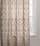 Maison d' Hermine Allure 100% Cotton Curtain 50 Inch by 84 Inch. For Sale