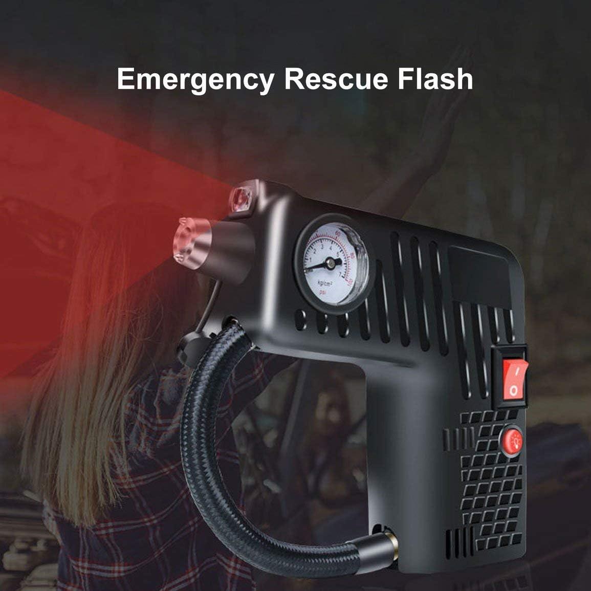 Bomba de compresor de aire inteligente digital de 12 V para coche ...