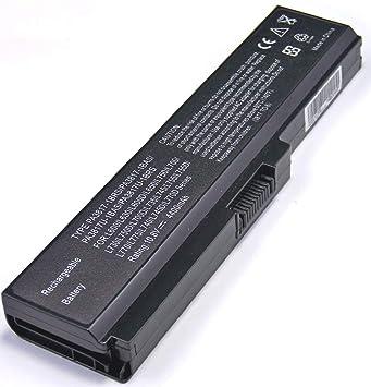 T-CLA-2 Batería para Ordenador portátil Toshiba PA3817U-1BRS PA3819U-1BRS Satellite C655 L600 L675 L675D L700 L745 L750 L750D L755 L755D M640 M645 P745 ...