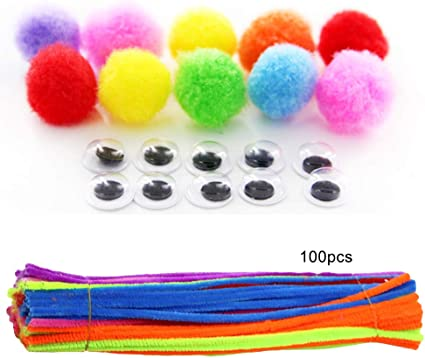 PIPECLEANERS CHILDRENS CRAFTS BOYS 30cm NEW 30 PIPE CLEANERS