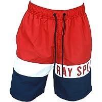 Sunsea Men's Swimming Shorts Beach Trunks Drawstring Quick Dry Sports surffing Boardshorts